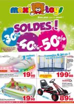 Prospectus Maxi Toys : Soldes -30% -40% -50%