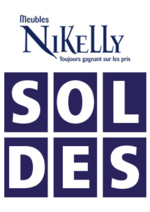 Prospectus Meubles Nikelly : Soldes !