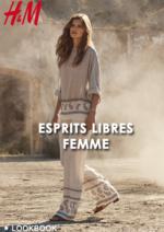 Catalogues et collections H&M : Lookbook femme Esprits libres
