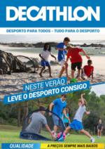 Folhetos DECATHLON : Neste Verão leve o desporto consigo