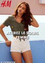 Catalogues et collections H&M : Lookbook femme Attirez le soleil