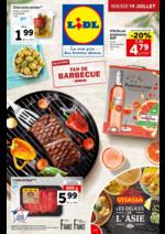 Prospectus Lidl : Sélection fan de barbecue