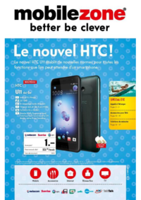 Prospectus Mobilezone Bern - Waaghaus : Le nouvel HTC
