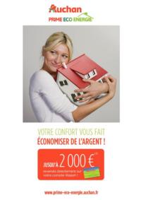 Prospectus Auchan ISSY LES MOULINEAUX : Votre confort vous fait économiser de l'argent !