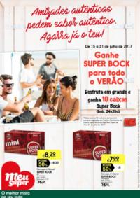 Folhetos Meu Super Lisboa Areeiro : Ganhe Super Bock para todo o verão