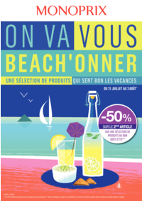 Prospectus Monoprix HERBLAY : On va vous beach'onner