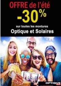 Prospectus Auchan Optique Vélizy : -30% sur toutes les montures optiques et solaires