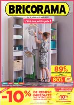 Prospectus Bricorama : L'été des petits prix !