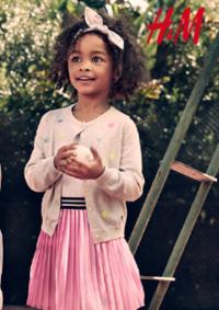 Catalogues et collections H&M Sarcelles : Lookbook enfant L'été en plein air