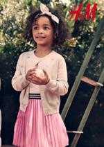 Catalogues et collections H&M : Lookbook enfant L'été en plein air