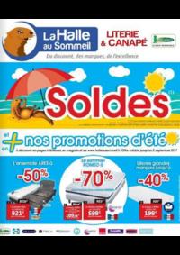 Prospectus La Halle au Sommeil BONNEUIL SUR MARNE : Soldes