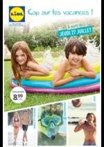 Prospectus Lidl : Cap sur les vacances !