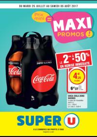 Prospectus Super U PARIS - AV. CLICHY : Prix mini = maxi promos !