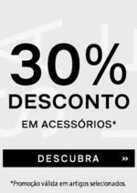 Promoções e descontos  : Acessórios -30%