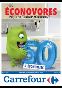 Prospectus Carrefour CHARENTON LE PONT : Les éconovores profitez d'économies monstrueuses !