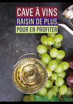 Promos et remises Monoprix : Cave à vins raisin de plus pour en profiter
