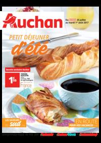 Prospectus Auchan Val d'Europe Marne-la-Vallée : Petit déjeuner d'été