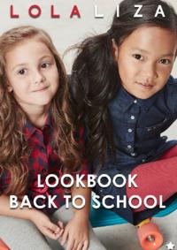 Catalogues et collections Lola & Liza BRUXELLES : Lookbook Back to school