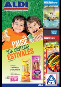 Prospectus Aldi Asnières-sur-Seine : Une pause aux saveurs estivales