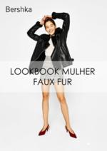 Catálogos e Coleções Bershka : Lookbook mulher Faux fur