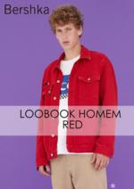 Catálogos e Coleções Bershka : Lookbook homem Red