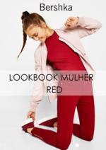 Catálogos e Coleções Bershka : Lookbook mulher Red