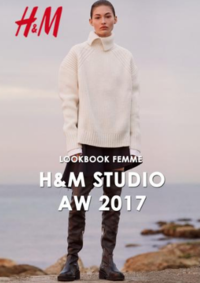 Catalogues et collections H&M Namur : Lookbook femme H&M Studio automne hiver 2017