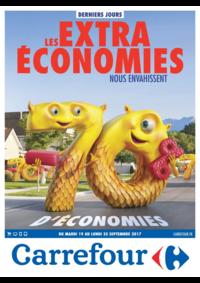 Prospectus Carrefour CHARENTON LE PONT : Les extra économies nous envahissent