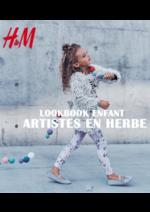 Catalogues et collections H&M : Lookbook enfant Artistes en herbe