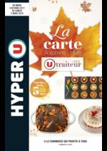 Promos et remises  : La carte traiteur Automne Hiver