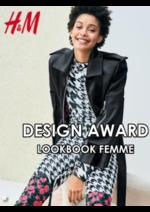 Catalogues et collections H&M : Lookbook femme H&M Design award