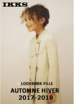 Catalogues et collections IKKS : Lookbook fille automne hiver 2017-2018
