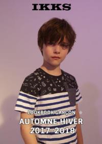 Catalogues et collections IKKS Femmes REDON : Lookbook garçon automne hiver 2017-2018
