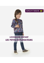 Catalogues et collections Sergent Major : Lookbook enfant Les petits explorateurs