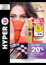 Prospectus Hyper U : Pour toutes les beautés