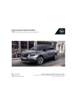 Tarifs opel : Opel Crossland X Business Édition