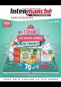 Prospectus Intermarché Express PARIS 4 : Les 4 semaines les moins chères de France. Semaine 4