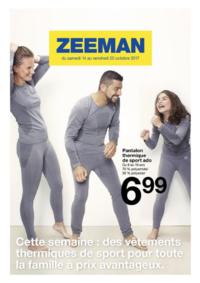Prospectus Zeeman Creutzwald : Cette semaine : des vêtements thermiques de sport pour la famille