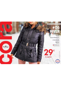 Prospectus Cora MOLSHEIM : Cora Influx #06 hiver