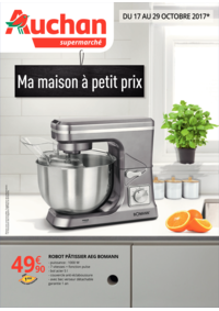 Prospectus Auchan Supermarché Paris 12 Daumesnil : Ma maison à petit prix
