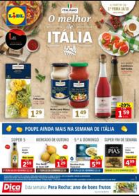 Folhetos Lidl Coruche : O melhor de Itália