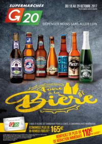Prospectus G20 BAINS-SUR-OUST : Foire à la bière