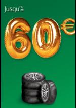 Promos et remises Euromaster : Jusqu'à 60€ remboursés pour l'achat de pneus