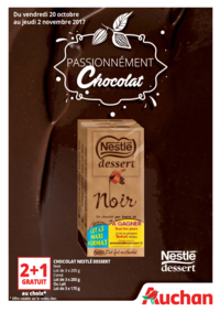 Prospectus Auchan Val d'Europe Marne-la-Vallée : Passionnément chocolat