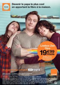 Prospectus Boutique Orange BOULOGNE BILLANCOURT 4 : Devenir le papa le plus cool en apportant la fibre à la maison
