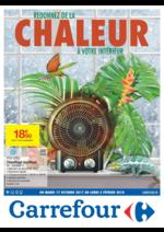 Prospectus Carrefour : Redonnez de la chaleur à votre intérieur