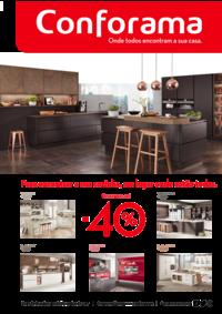 Folhetos Conforama Amadora - Alfragide : Especial cozinhas até -40%