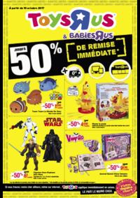 Prospectus Toys R Us AULNAY SOUS BOIS : Jusqu'à -50% de remise immédiate