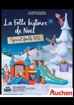 Prospectus Auchan : La folle histoire de Noël. Spécial jouets XXL