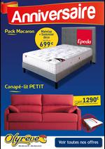 Promos et remises  : Découvrez nos Literies fixes/relax & Canapés-lits en promotion !